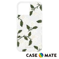 【CASE-MATE】x Rifle Paper Co. 限量聯名款 iPhone 12 / 12 Pro(防摔抗菌手機保護殼 - 白色繡球花)