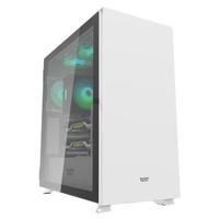 【darkFlash】DLX22 E-ATX 電腦機殼/機箱-白 不含風扇(DF01-0033/GPU:400mm/CPU:180mm)
