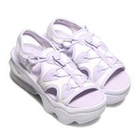 【NIKE 耐吉】涼鞋 Air Max Koko Sandal 女鞋 氣墊 避震 舒適 輕便 厚底 穿搭 球鞋 紫 白(CI8798501)