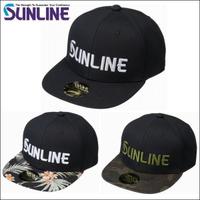 SUNLINE CP-3983【海天龍釣具商城】寬版潮帽 棒球帽 鴨舌帽 釣魚帽子 休閒帽