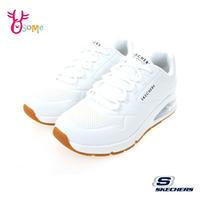 Skechers運動鞋 女鞋 UNO 2 氣墊運動鞋 跑步鞋 慢跑鞋 全橡膠大底 支撐跑鞋 V8299#白色◆奧森