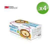【3M】醫用口罩兒童散裝50枚入x4盒-藍色