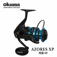 【OKUMA】AZORES阿諾 XP 強力全金屬紡車捲線器-16000P(岸拋/船拋/鐵板釣法適用)