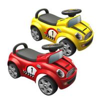 麗嬰兒童玩具館~親親-mini cooper助步車.腳行車滑行車-經典賽車造型助步車
