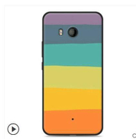 HTC U11手機殼矽膠軟殼HTC U11防摔保護套全包邊卡通小清新男女款
