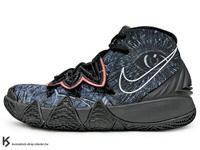 [25cm] 2020 Kyrie Irving 最新代言鞋款 NIKE KYBRID S2 GS KYRIE 4 5 6 HYBRID 大童鞋 女鞋 黑灰 WHAT THE 歐文 合體鞋 籃球鞋 (CV0097-001) !