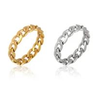แหวนสแตนเลสแหวนผู้ชายผู้หญิงแหวนเรขาคณิตแหวนเงินทองแหวนชุดเครื่องประดับสตรีของขวัญ