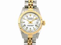 ROLEX錶 勞力士 69173 日誌 女錶 中18K金材質 原廠非港錶 經典款 簡單大方 商品編號:J34861