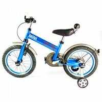【領券滿額折120】英國Mini Cooper 兒童腳踏車16吋-激光藍★愛兒麗婦幼用品★