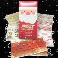 【上好】☆成人☆醫療口罩☆MIT☆口罩☆耶誕限定☆紅星空☆聖誕老公公外盒☆MD雙鋼印☆