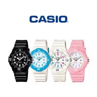 【CASIO 卡西歐】LRW-200H 時尚活力亮面錶帶輕巧防水手錶