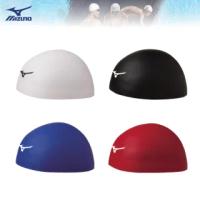【MIZUNO 美津濃】GX SONIC HEAD三次元立體矽膠泳帽 N2JW800200(泳帽)