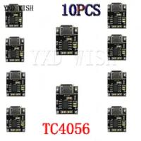 10 Buah Sel Tunggal Pengisian Charger Modul 1A 5V-6V 4.2V TC4056 TC4056A Mikro USB Power Supply Papan TP4056