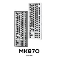 FLCMMK MK870 DIY 87 Phím Bàn Phím Cơ Bộ 80% Bàn Phím WK Bố Trí RGB Đơn Chế Độ Có Dây