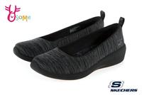 Skechers ARYA 成人女款 柔軟親膚 低跟娃娃鞋 休閒運動鞋 R8246#黑色 奧森