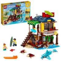 【LEGO 樂高】創意百變系列3合1 衝浪手海灘小屋 31118 燈塔 海灘(31118)