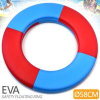 實心EVA安全浮圈(加厚58CM)成人兒童泳圈救生圈.泡沫圈免充氣游泳圈.玩水助泳板打水板.漂浮踢水板飄浮板.運動水上用品.推薦哪裡買ptt  D087-A722