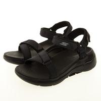 【SKECHERS】女 健走系列涼拖鞋 GO WALK ARCH FIT SANDAL(140251BBK)