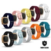 【T.G】SAMSUNG Galaxy Watch3 45mm 鐵扣幻彩防水矽膠錶帶(10色)