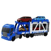 【TOMICA WORLD 交通世界】建設拖車(小汽車 場景)