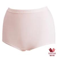 【Wacoal 華歌爾】新伴蒂內褲M-3L高腰三角款(淺粉紅)