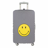 LOQI 行李箱外套/笑臉 SMSP