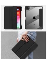 【帶筆槽透明殼保護套】iPad Pro 12.9吋 2021版 A2229 A2069 A2232  三折透明殼