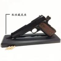 M1911โลหะ Colt 1:2.05โลหะผสมทหารปืนถอดออกได้โยนปืนใช้ไม่ได้