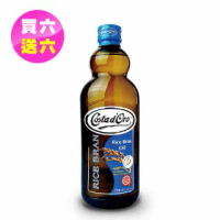 【Costa dOro 高士達】義大利原裝進口高士達玄米油(750ml*12入_舊包裝)