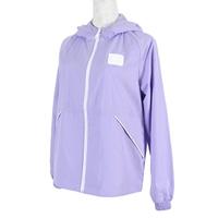 Skechers Outerwear [L121W099-005U] 女 外套 連帽 防風 薄款 口袋 輕巧收納 淺紫