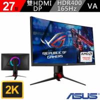 【ASUS 華碩】ROG Strix XG27WQ HDR 27吋 165Hz 曲面電競螢幕