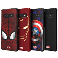 SAMSUNG Galaxy S10 / S10+ Marvel 原廠智能聯盟背蓋 超級英雄 智能背蓋