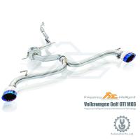 FI 高流量帶三元催化頭段 當派 排氣管 Volkswagen Golf GTi MK6 底盤【YGAUTO】