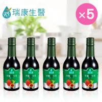 【瑞康生醫】木鱉果酵素-發酵液280ml/入×5入(酵素 發酵液)