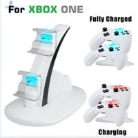 用於 Xbox One 和 Xbox One S 控制器, Xbox Charger Station, 白色和黑色的雙控