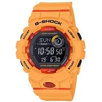 【CASIO 卡西歐】G-SHOCK智慧手錶(橘 GBD-800-4)