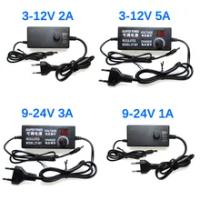 AC DCแหล่งจ่ายไฟ 3V 5V 6V 9V 12V 15V 18V 24 V 1A 2A 5A AC/DC Switching Power Supply Adapter 220V To 12V 24 V 12 24 V