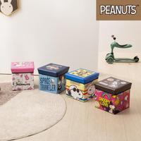 【收納王妃】史努比系列  正方收納箱椅  4款可選(30x30x30cm)