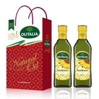 【Olitalia 奧利塔】葵花油禮盒組(500mlx2瓶)