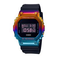 G-SHOCK 金屬霓虹都會夜景彩虹錶圈經典錶 (GM-5600SN-1)