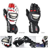 【現貨】現貨 日本komine GK-212 鈦合金競賽型皮長手套 可觸控 防風 防滑 防摔手套