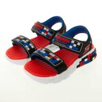 【SKECHERS】男童涼拖鞋系列 MEGA-CRAFT SANDAL(400070LBKSR)