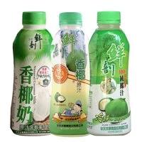 【半天水】100%鮮剖純椰子汁48瓶任選(600ml/瓶)(免運費)