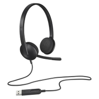 Logitech | H340 USB Headset