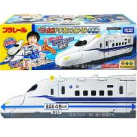 【Fun心玩】TP17066 正版 日本 超巨大新幹線N700S變形車站 TAKARA TOMY 多美火車 鐵道王國