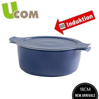 【UCOM 瑞康屋】德國新煮藝卡樂芙18CM煙燻藍陶瓷鍋(1.5L)