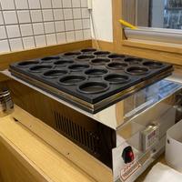 【二手餐飲設備 】電力式20格紅豆餅機+備用烤模 台北中山自取