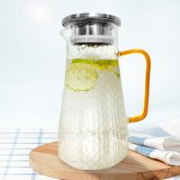 【FUJI-GRACE日本富士雅麗】耐熱玻璃冷水壺1400ml 玻璃壺 (超取限1個)