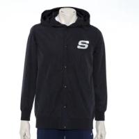 【SKECHERS】男連帽風衣外套(L120M027-002K)