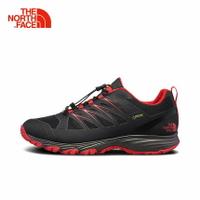 [ THE NORTH FACE ] 男 GORE-TEX 低筒徒步鞋 黑/紅 / 公司貨 NF0A3FYYTJ2